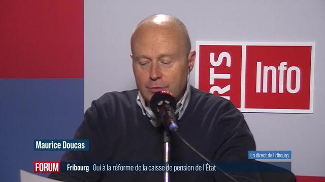 Les Fribourgeois acceptent la réforme de la Caisse de prévoyance de l'État [RTS]