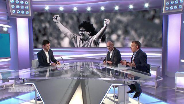 Football: hommage à Maradona [RTS]
