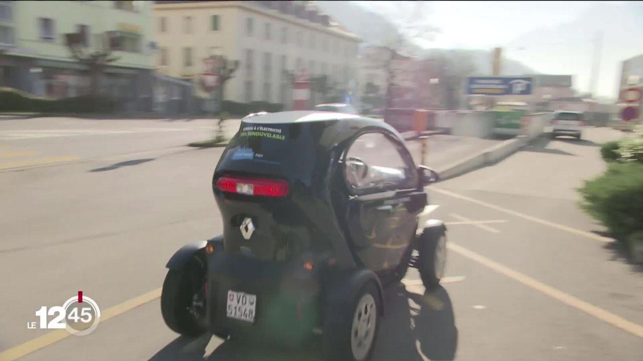 Dans le Chablais, des voitures électriques à disposition des employés communaux [RTS]