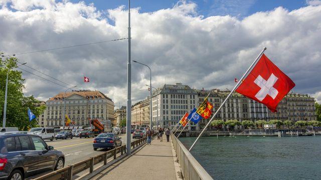 La ville de Genève. [Bernard Jaubert - afp]