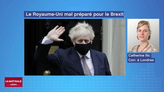 Brexit ou l'impréparation britannique (vidéo) [RTS]
