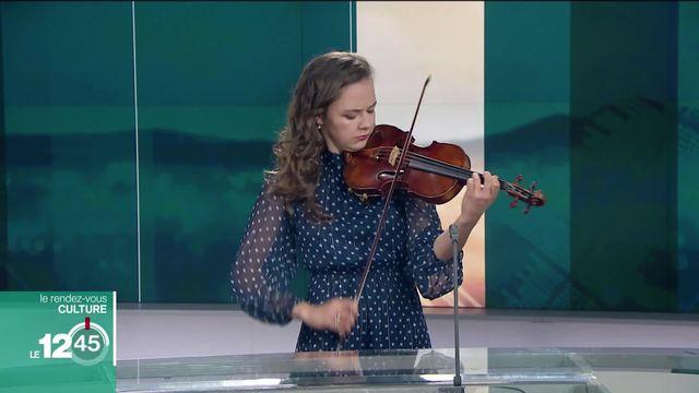 Rendez-vous culture avec Alexandra Conunova, violoniste virtuose et Lausannoise de coeur [RTS]