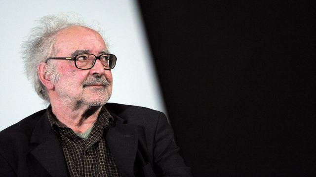 Jean-Luc Godard en 2010. [Miguel Medina - AFP]