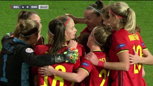 Belgique - Suisse (4-0): la Suisse rate l'occasion de se qualifier ce soir [RTS]