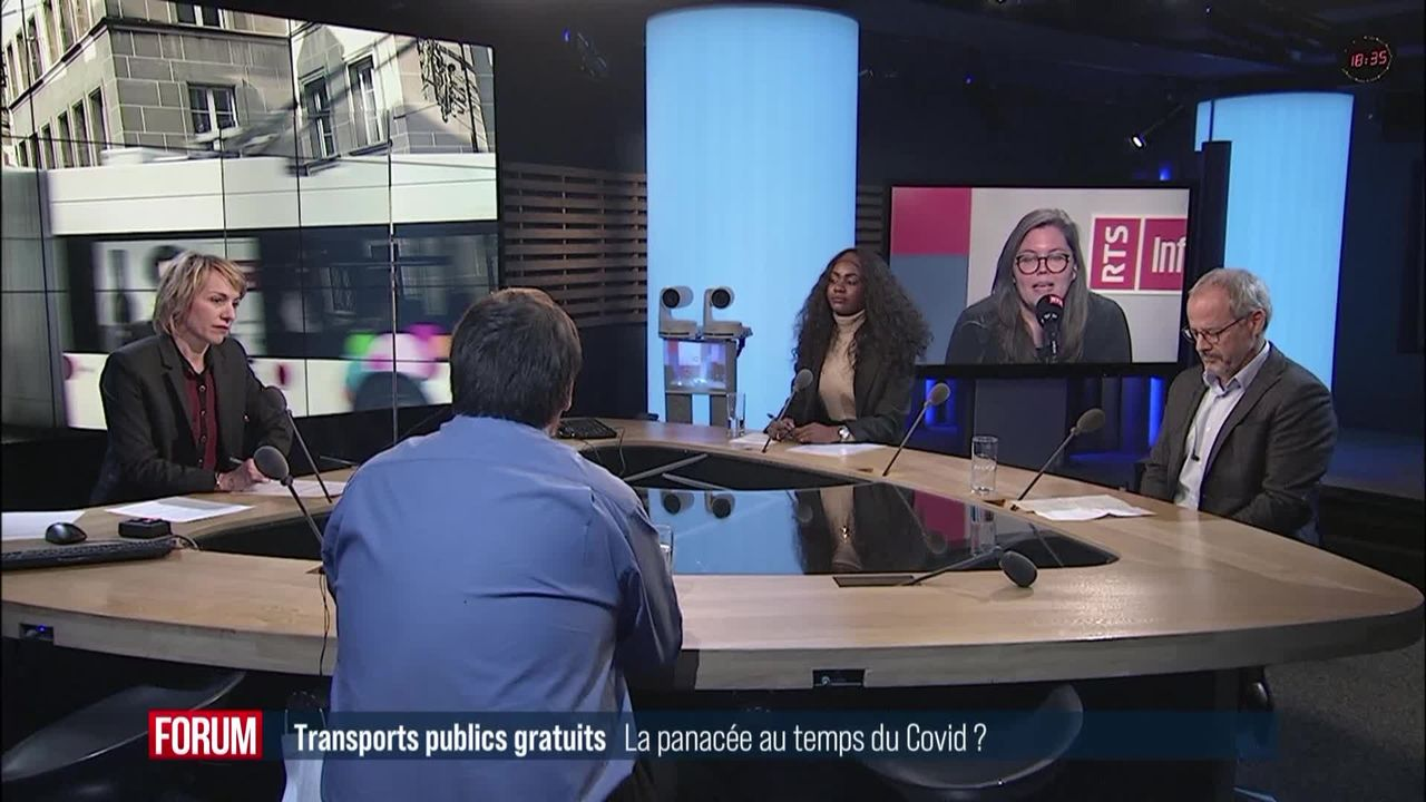 Le grand débat – Transports publics gratuits : la panacée ? [RTS]