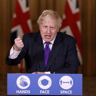 Boris Johnson et le gouvernement du Royaume-Uni ont approuvé le vaccin. [John Sibley - AP]