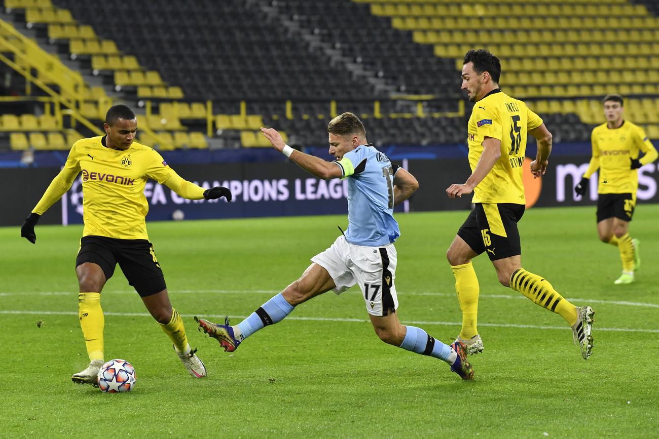 Ligue des champions: Dortmund obtient son ticket pour les 8es