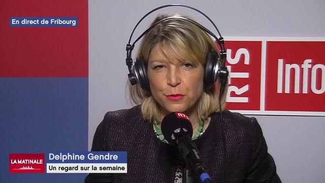 La semaine de Delphine Gendre (vidéo) - Le mot de l'année en Suisse [RTS]