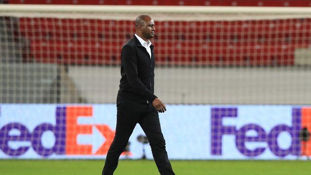 La défaite de jeudi en Europa League, 3-2 face au Bayer Leverkusen, a été celle de trop pour Vieira. [Wolfgang Rattay - Keystone]