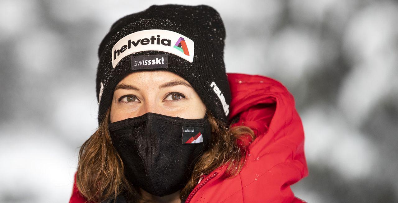 Michelle Gisin et les Suissesses sont prêtes à en découdre malgré la situation sanitaire. [Keystone]