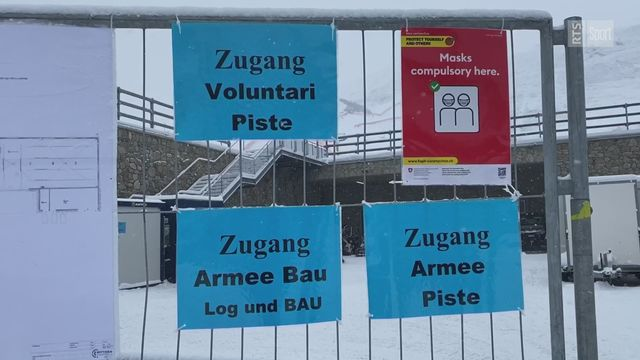 St-Moritz face au défi du Covid [RTS]