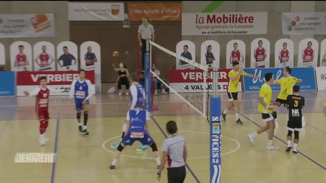 Volley-ball: Chênois - LUC (3-2) [RTS]