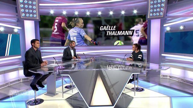 Football: Gaëlle Thalmann [RTS]