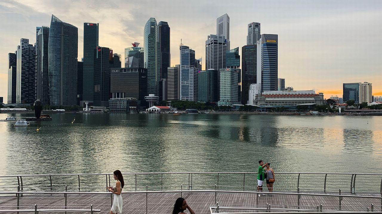 Le Forum économique mondiale 2021 se déroulera finalement à Singapour. [Kevin Lam - Reuters]