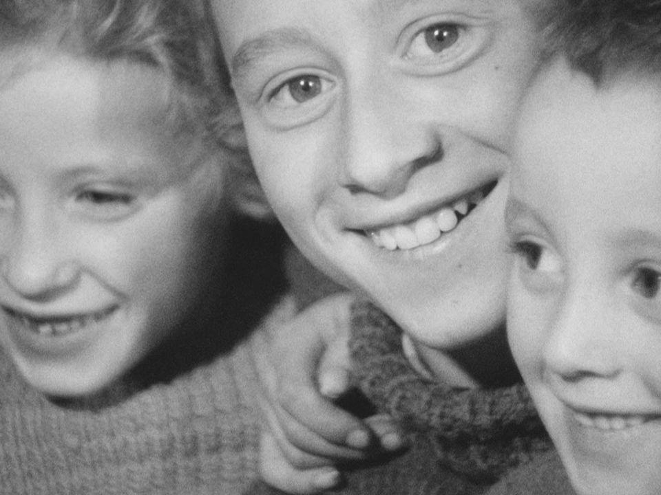 Le Noël des pauvres en 1961. [RTS]