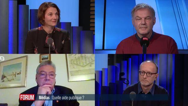 Le débat - Médias, quelle aide publique ? [RTS]