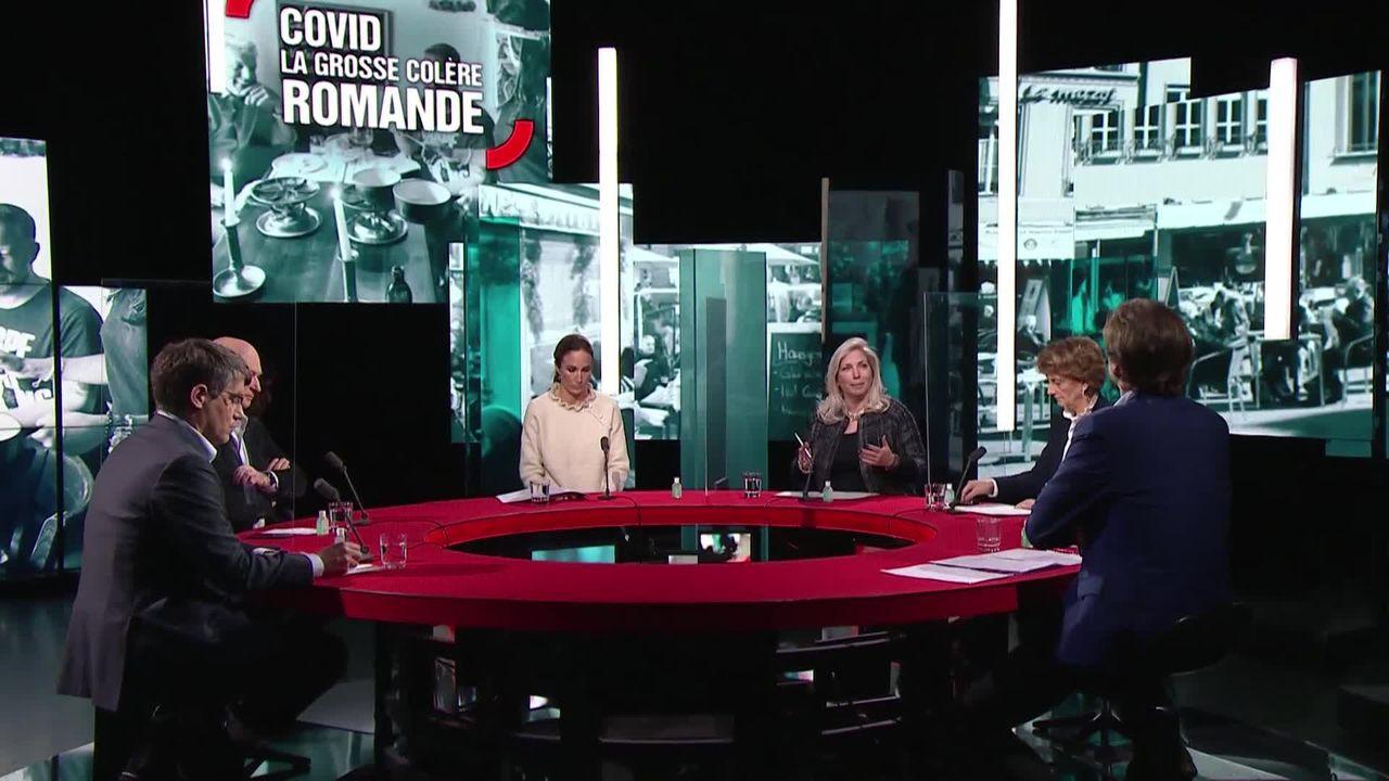 Covid, la grosse colère romande [RTS]
