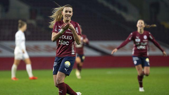 Leonie Fleury a participé à la victoire face au FC Zurich. [Salvatore Di Nolfi - Keystone]