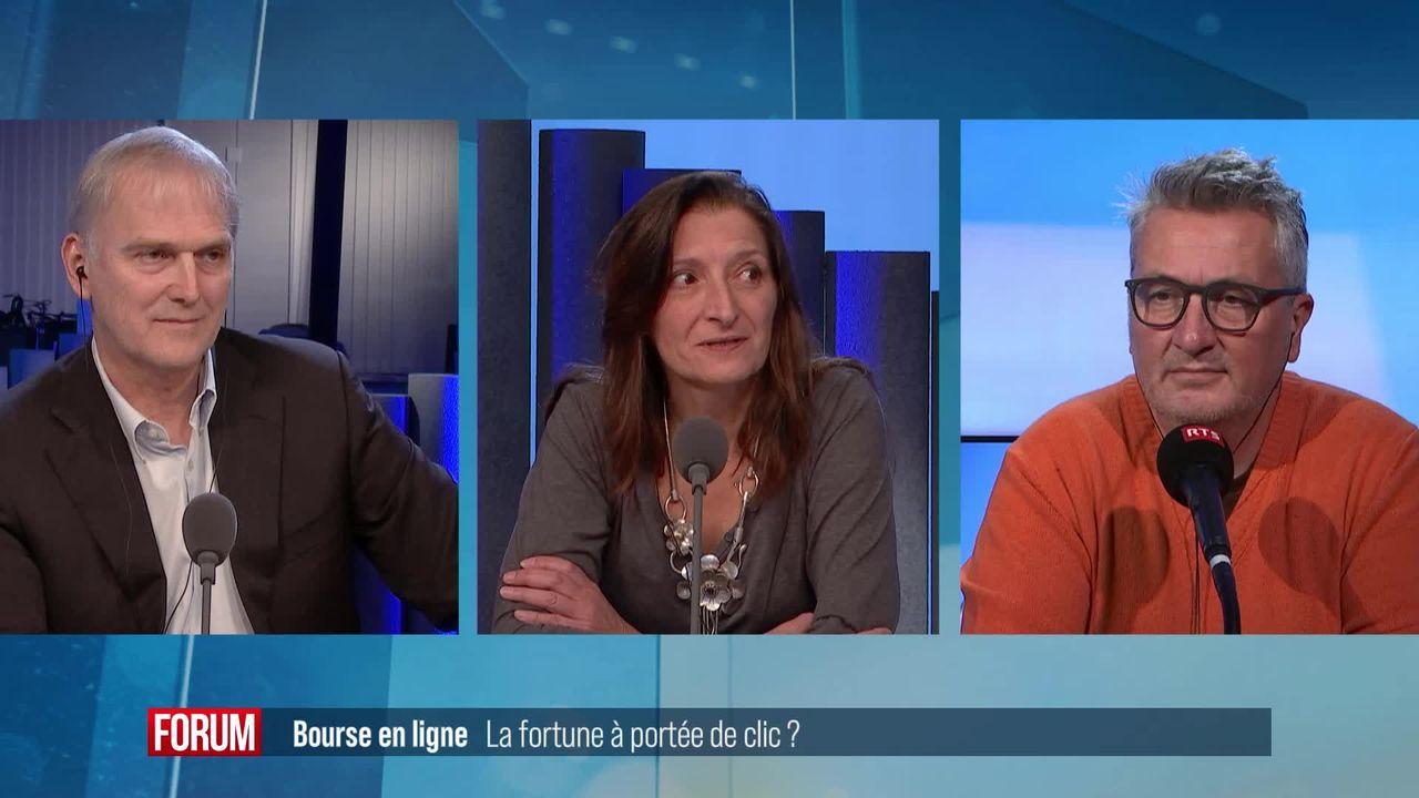 Le grand débat (vidéo) - Bourse en ligne: la fortune à portée de clic? [RTS]