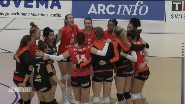 Volleyball: NUC - Lugano (3-0) [RTS]