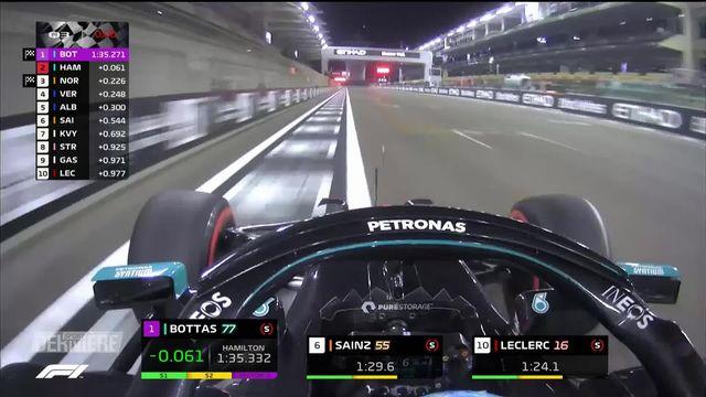 Formule 1, GP d'Abou Dabi: première pole de la saison pour Verstappen [RTS]