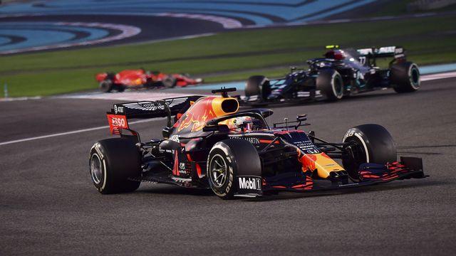 Max Verstappen a filé vers la victoire. [Giuseppe Cacace - AP]