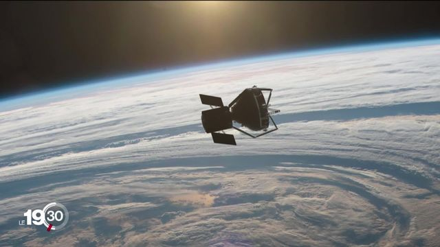 L'Agence spatiale européenne signe un contrat avec la start-up suisse ClearSpace pour faire le ménage dans l'espace [RTS]