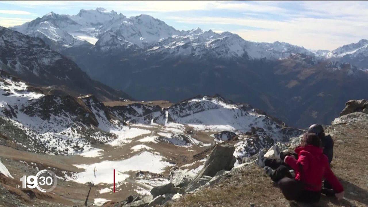 Plaisirs de la glisse en Suisse sans les Français [RTS]