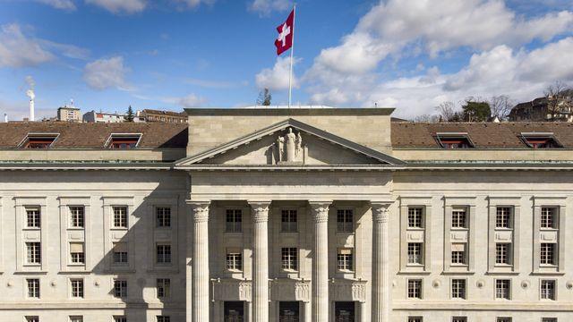 Le bâtiment du Tribunal fédéral à Lausanne, photographié le 18 mars 2019 (image d'illustration). [Laurent Gillieron - Keystone]
