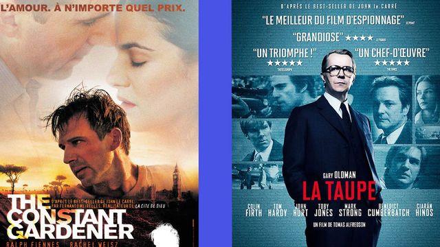 Banner de quelques films adaptés de John Le Carré. [DR]