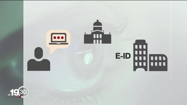 La future loi sur l'identification numérique inquiète les opposants qui redoutent pour la sécurité de nos données personnelles. [RTS]