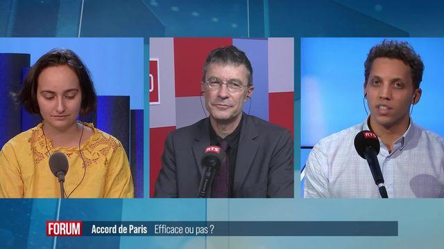 Le grand débat - Accord de Paris: efficace ou pas? [RTS]