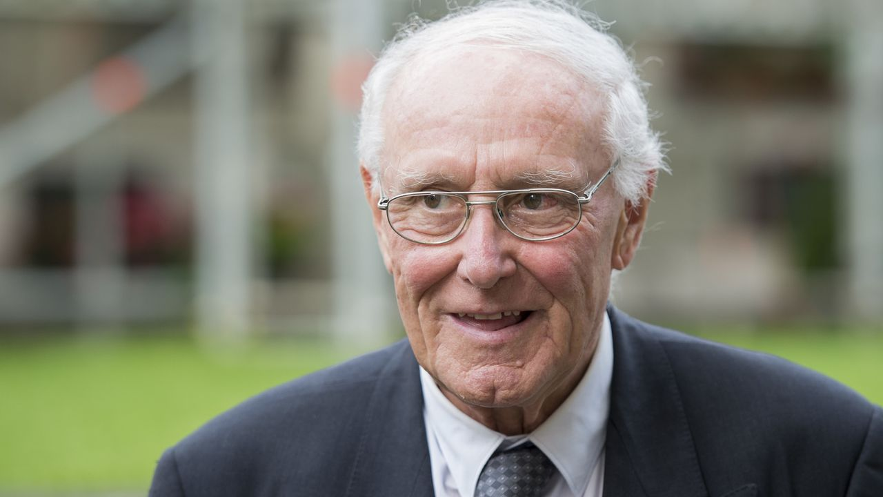L'ancien conseiller fédéral Flavio Cotti est décédé à l'âge de 81 ans