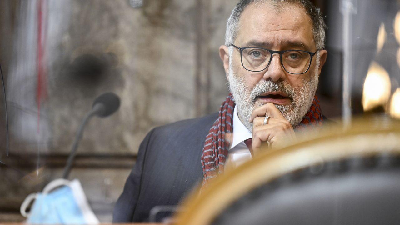 Le conseiller aux Etats genevois Carlo Sommaruga. [Alessandro della Valle - Keystone]