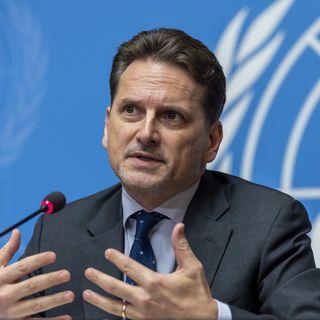Pierre Krähenbühl, l'ancien commissaire général de l'UNRWA. [Martial Trezzini - Keystone]