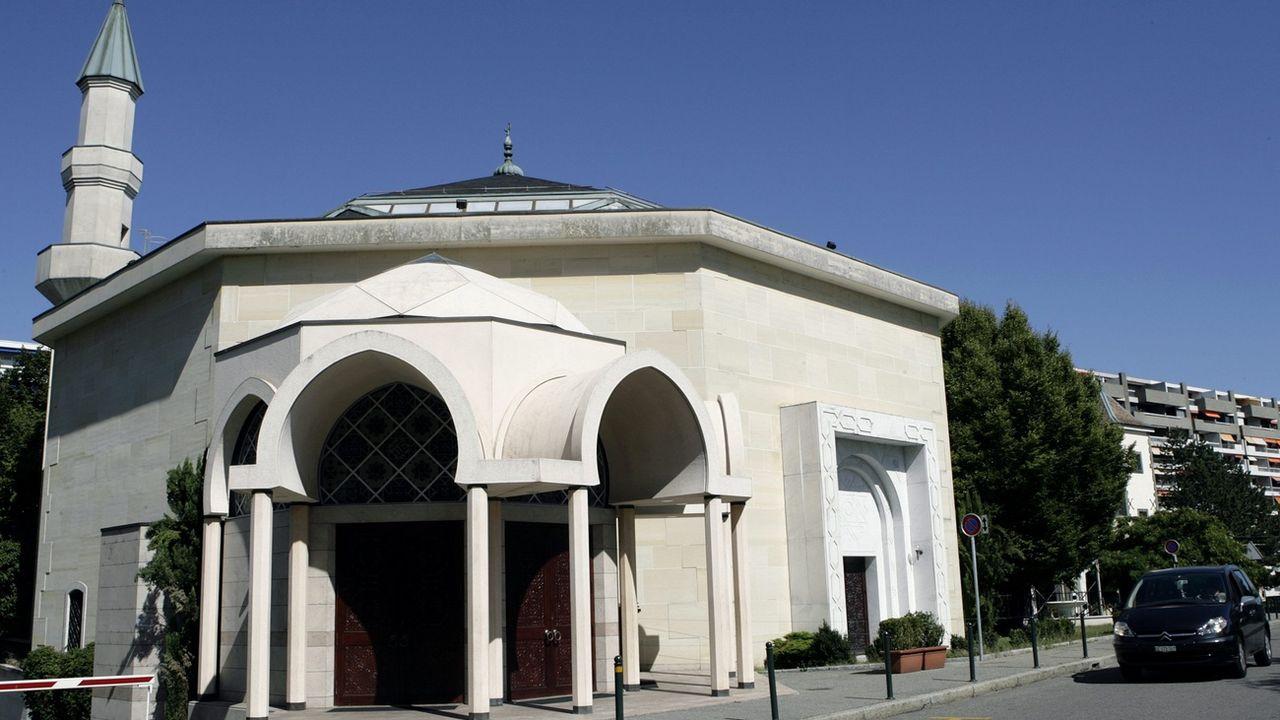 La mosquée du Petit-Saconnex, dans le canton de Genève. [Salvatore Di Nolfi - Keystone]