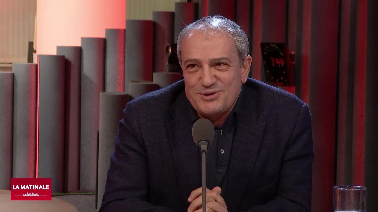 L'invité de La Matinale (vidéo) - Alfonso Gomez, conseiller municipal Vert de la ville de Genève [RTS]