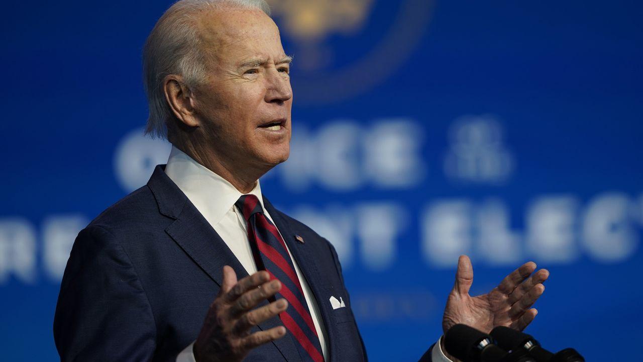 Joe Biden a nommé son équipe pour le climat. [Carolyn Kaster - AP]