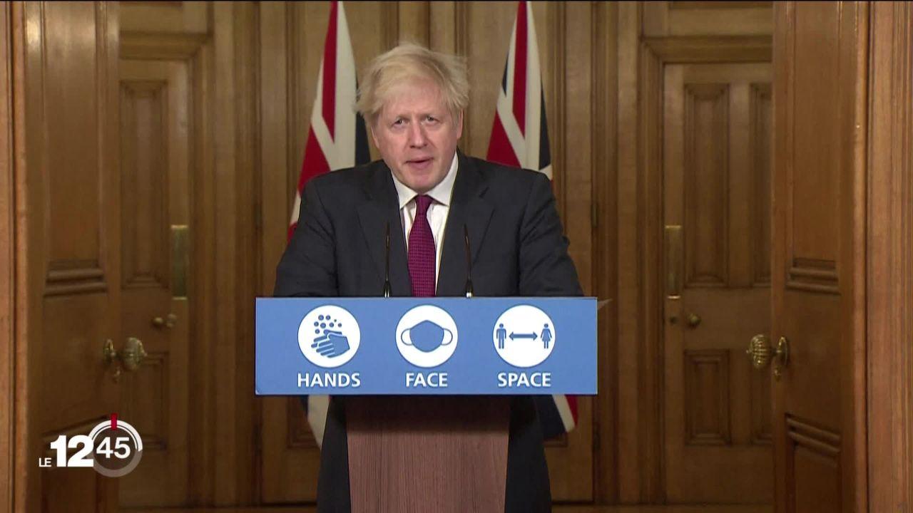 Londres et le Sud de l'Angleterre sont reconfinés pour juguler une nouvelle souche du Covid-19 [RTS]