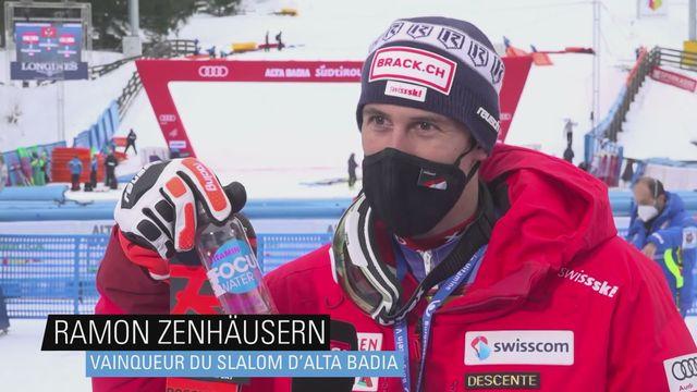 """Ski - Ramon Zenhäusern: """"C'est la preuve que nos entraîneurs ont bien bossé"""" [RTS]"""