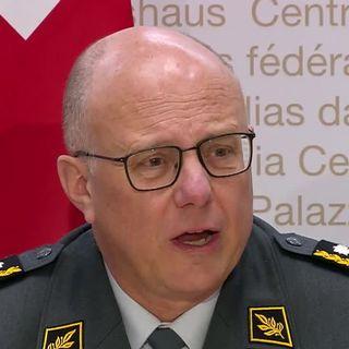 Philippe Rebord, chef de l'armée suisse, quittera ses fonctions à la fin de l'année. [RTS]
