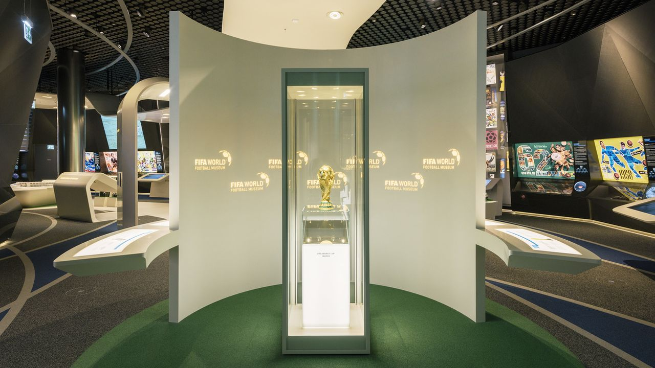 Ouvert en février 2016, le Musée de la FIFA à Zurich a fermé ses portes neuf mois plus tard.  [KEYSTONE/Christian Beutler - Keystone]