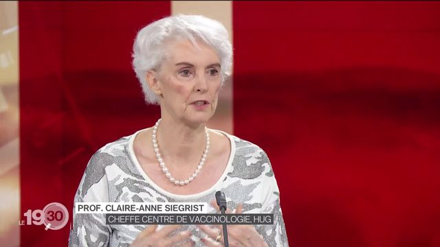 Vaccin anti-Covid: l'éclairage de Claire-Anne Siegrist, directrice du Centre de vaccinologie HUG [RTS]