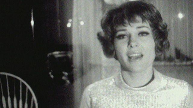 La chanteuse Rika Zaraï en 1967 [RTS]