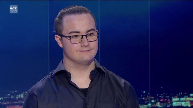 Alexandre, 20 ans, étudiant et souffrant de troubles autistiques [RTS]