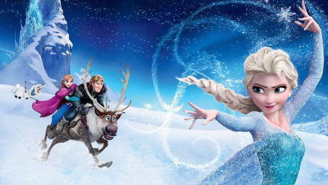 La reine des neiges. [RTS/Buena Vista]