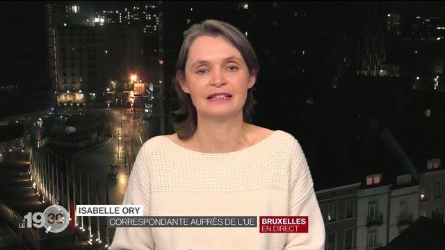 Accord sur le Brexit: les précisions d'Isabelle Ory [RTS]