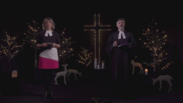Cultede Longue Veille de Noël avec des invités de Suisse Romande [RTS]