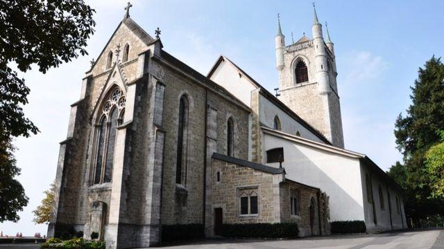 Temple Saint-Martin de Vevey. [Alexandra Urfer Jungen]
