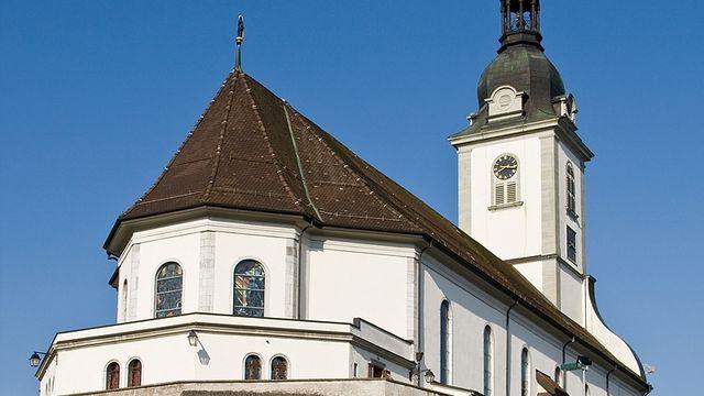 Église Saint-Pierre-aux-Liens à Bulle. [Roland Zumbuehl  - CC BY 3.0 / Wikimedia Commons]